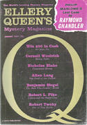 Ellery Queen's Mystery Magazine January 1962 Magazine