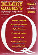Ellery Queen's Mystery Magazine August 1962 Magazine
