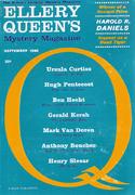 Ellery Queen's Mystery Magazine September 1962 Magazine