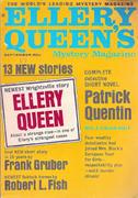 Ellery Queen's Mystery Magazine September 1967 Magazine