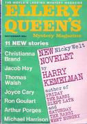 Ellery Queen's Mystery Magazine November 1967 Magazine