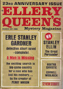 Ellery Queen's Mystery Magazine March 1964 Magazine