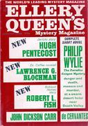 Ellery Queen's Mystery Magazine August 1966 Magazine
