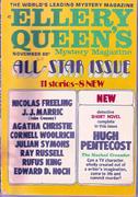 Ellery Queen's Mystery Magazine November 1969 Magazine