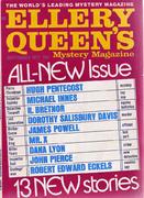 Ellery Queen's Mystery Magazine September 1971 Magazine