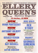 Ellery Queen's Mystery Magazine January 1970 Magazine