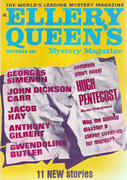 Ellery Queen's Mystery Magazine October 1968 Magazine