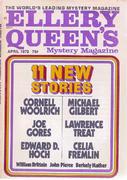 Ellery Queen's Mystery Magazine April 1972 Magazine