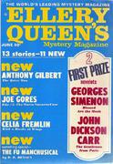 Ellery Queen's Mystery Magazine June 1969 Magazine