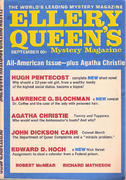 Ellery Queen's Mystery Magazine September 1970 Magazine