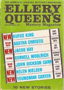 Ellery Queen's Mystery Magazine December 1966 Magazine
