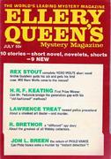 Ellery Queen's Mystery Magazine July 1970 Magazine