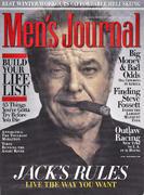 Men's Journal Magazine January 2008 Magazine