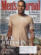 Men's Journal Magazine July 2008 Magazine
