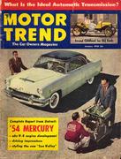 Motor Trend Magazine January 1954 Magazine