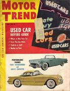 Motor Trend Magazine June 1954 Magazine