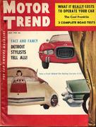 Motor Trend Magazine July 1954 Magazine