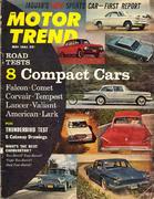 Motor Trend Magazine May 1961 Magazine