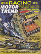 Motor Trend Magazine March 1966 Magazine