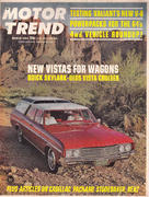 Motor Trend Magazine March 1964 Magazine