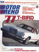 Motor Trend Magazine September 1976 Magazine