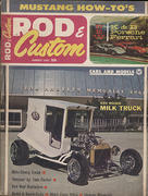 Rod & Custom Magazine August 1965 Magazine