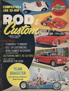 Rod & Custom Magazine February 1963 Magazine