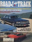 Road & Track Magazine November 1976 Magazine