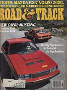 Road & Track Magazine August 1978 Magazine
