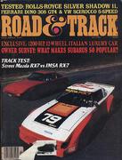 Road & Track Magazine November 1979 Magazine