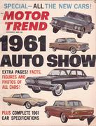 Motor Trend Magazine November 1960 Magazine