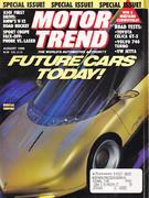 Motor Trend Magazine August 1990 Magazine