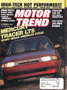 Motor Trend Magazine December 1990 Magazine