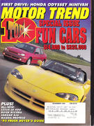 Motor Trend Magazine November 1994 Magazine