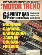 Motor Trend Magazine January 1968 Magazine