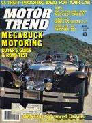 Motor Trend Magazine June 1979 Magazine