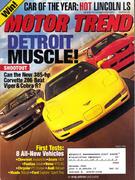 Motor Trend Magazine August 2000 Magazine