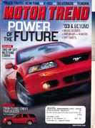 Motor Trend Magazine March 2002 Magazine