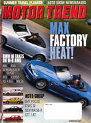 Motor Trend Magazine April 2002 Magazine