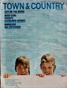 Town & Country Magazine January 1963 Magazine