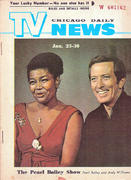 Chicago Daily TV News Magazine January 23, 1971 Magazine