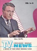 Chicago Daily TV News Magazine February 16, 1962 Magazine