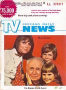 Chicago Daily TV News Magazine May 8, 1971 Magazine