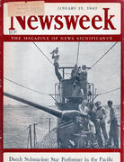 Newsweek Magazine January 12, 1942 Magazine