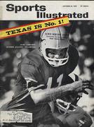Sports Illustrated October 21, 1963 Magazine