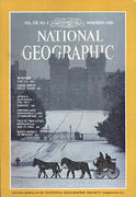 National Geographic November 1980 Magazine