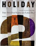 Holiday Magazine September 1957 Magazine