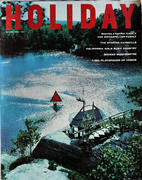 Holiday Magazine August 1958 Magazine