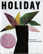 Holiday Magazine October 1960 Vintage Magazine