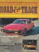 Road & Track Magazine April 1975 Magazine